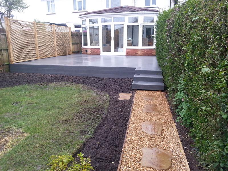 Decking hard landscaping pro gardens oxfordshire for Hard landscaping